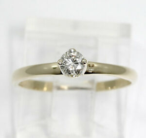 Diamond-solitaire-engagement-ring-14K-yellow-gold-round-brilliant-15CT-promise