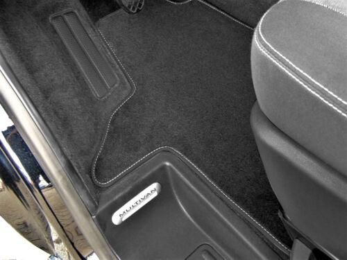 Fußmatte VW T6 mit zwei Einzelsitzen Premium Velours  Anthrazit SLB