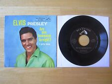 Elvis Presley 45rpm record & Picture Sleeve, I Gotta Know, RCA # 47-7810, 1960