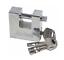 Heavy Duty Steel 50//70//90mm SHUTTER PADLOCK Shackle Lock with 4 keys