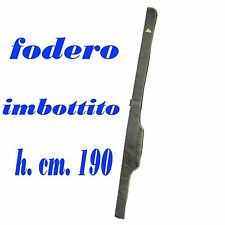 portacanne fodero per una canna carpfishing porta canne sacca imbottita singola