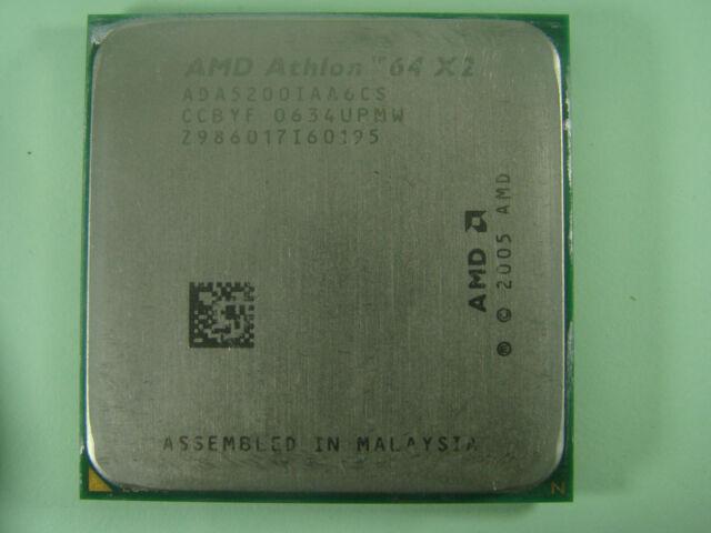 AMD Athlon 64 X2 5200 2x2, 6 GHz – ADA5200IAA6CS windsor-kern ##kz-363