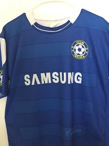 FERNANDO TORRES  9 Chelsea London Samsung Home Football Shirt Soccer ... b76f34ef7