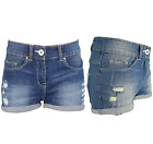 NEW WOMENS HOT PANTS DENIM STRETCHY SHORTS RIPPED EXTRA SHORT SEXY HALF PANT