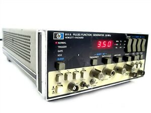 Keysight Hewlett Packard HP 8111A Pulse/ Function Generator 20MHz+Option 001