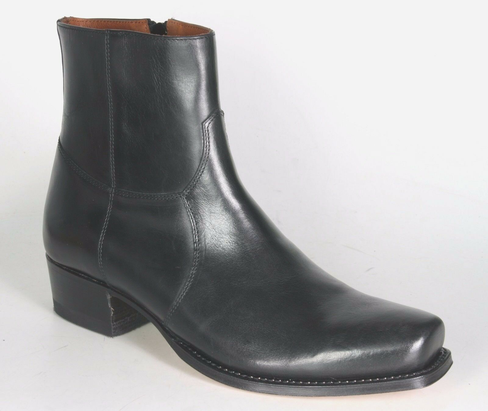 5200 Sendra Stiefelette INSA Rahmengenähte Ciclon Negro Schwarz Rahmengenähte INSA Schuhe aa6205