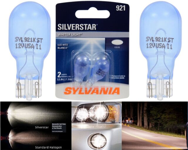 Sylvania Silverstar 921 17.9W Two Bulbs Interior Cargo Trunk Light Replace EO