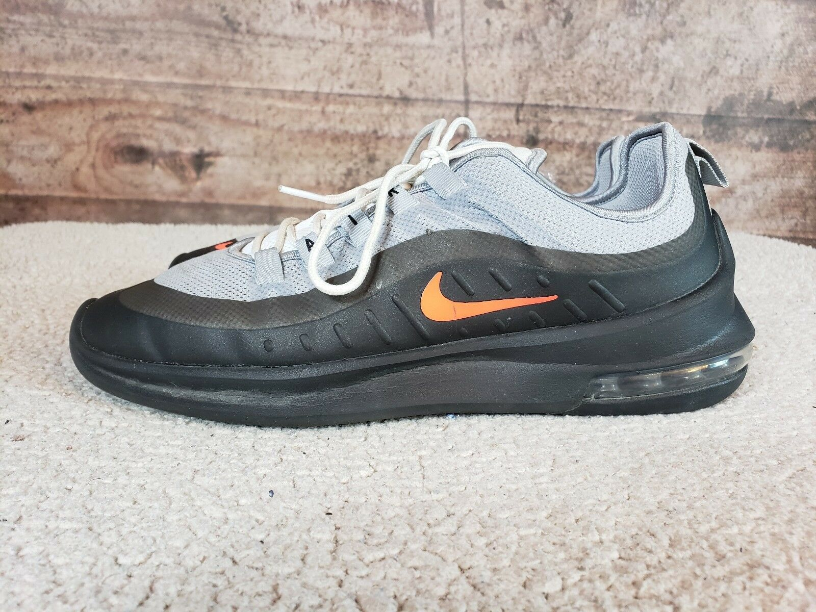 hommes Nike Air Max Axis Casual Running Chaussures in Wolf gris Sz 9