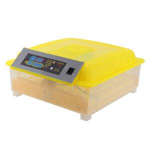 Inkubator-fuer-56-Eier-Brutkasten-Brutmaschine-Motorbrueter-Brutgeraet-automatisch