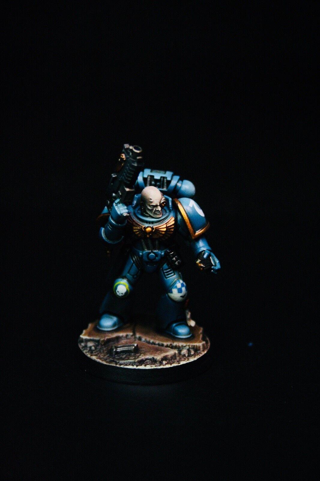 Pro Painted Space Marine Heroes Bredher Titus, 40k, Ultramarines