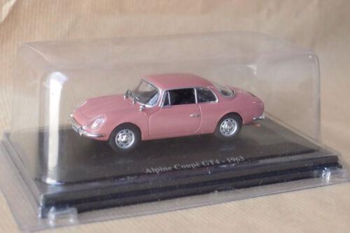 ELIGOR HACHETTE ALPINE COUPE GT4 1963 1//43