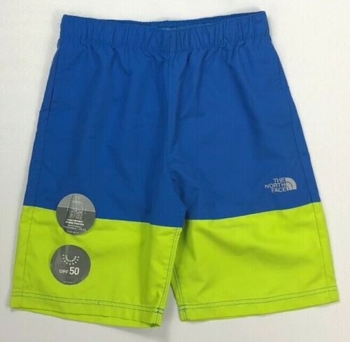 Boy/'s Youth The North Face UPF 50 Phantom Print Flash Dry Water Shorts Swim