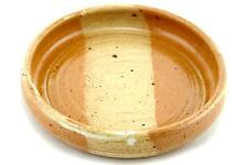 An Arabia Atelje bowl/dish. Signed 'ICR' 1970's Finnish art pottery