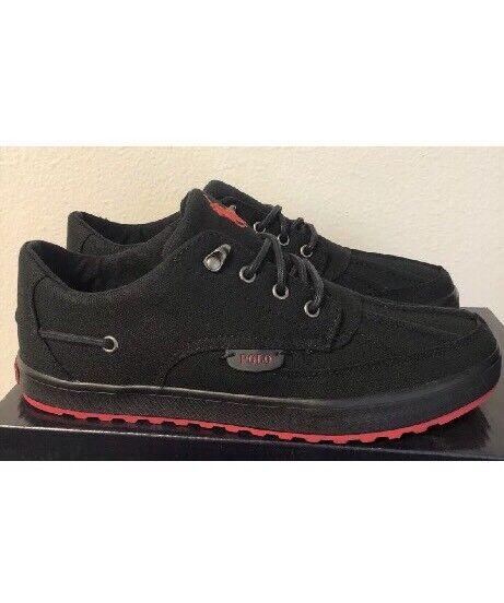 Polo ralph lauren uomini 'ramiro scarpe espadrilli nero dimensioni 9.5 d