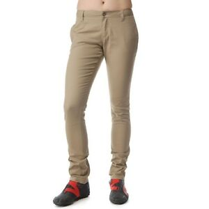 New Dickies Girls Khaki HH874SK Original Lowrider Skinny Leg Pant NWT With Tags