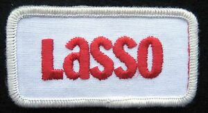 LASSO-EMBROIDERED-SEW-ON-ONLY-PATCH-FARM-HERBICIDE-ADVERTISING-3-034-x-1-1-2-034