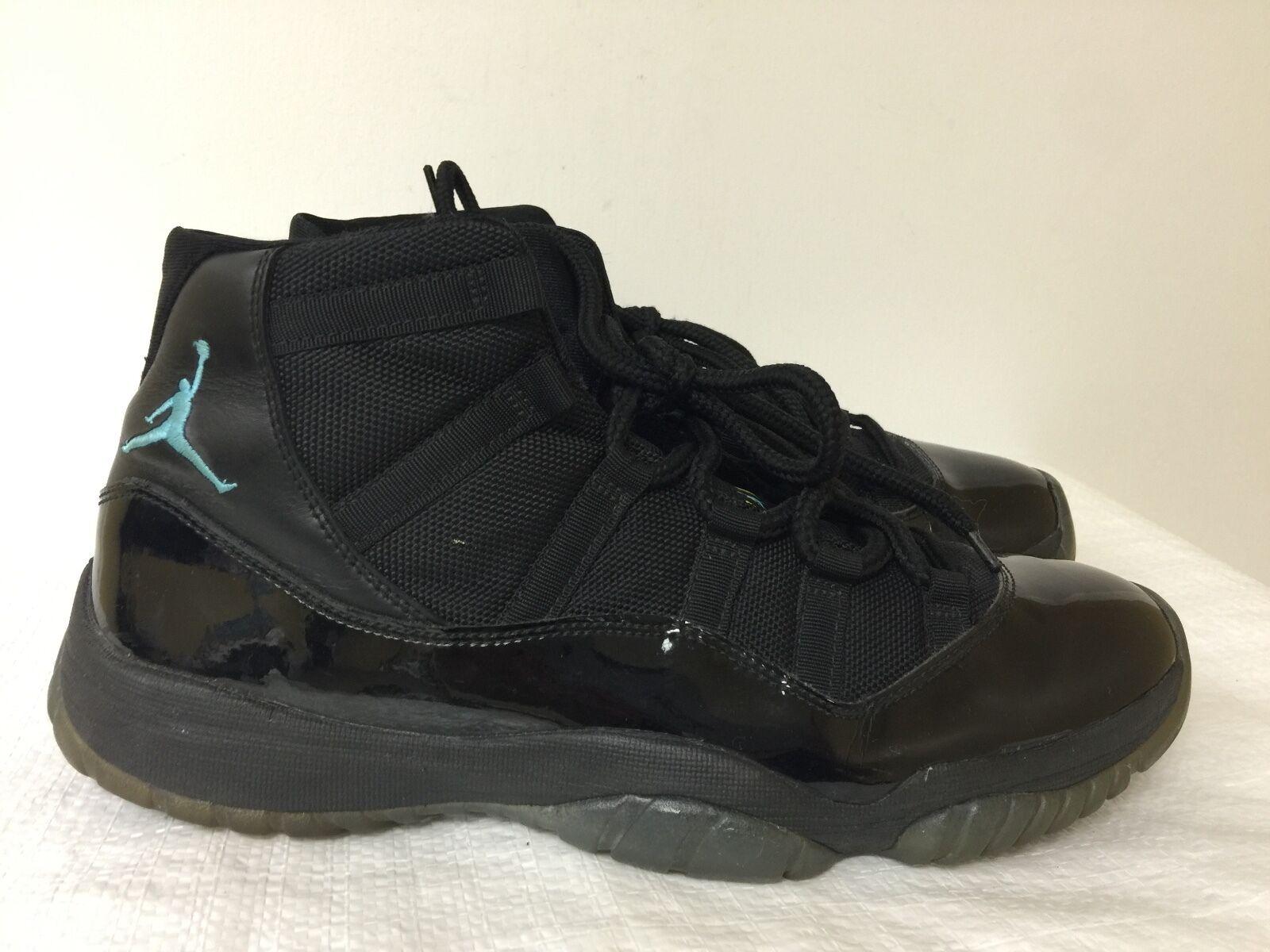 the latest 68cf9 54d21 Nike Air Jordan Retro 11 gamma Azul maíz Negro Varsity maíz Azul 378037-006  hombres tamaño 10,5 gran descuento 4f6633
