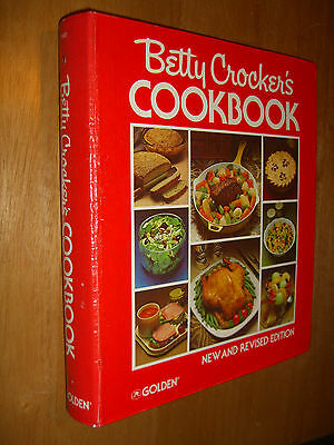 Betty Crocker's Cookbook New Revised 3rd Printing 5 Ring Binder 1980