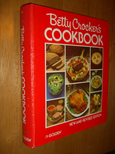 Betty Crocker's HC 5 Ring Binder 6 tab dividers 1969/1978 Cookbook 400 pages