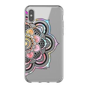 Coque Iphone X et XS mandala 3 pastel
