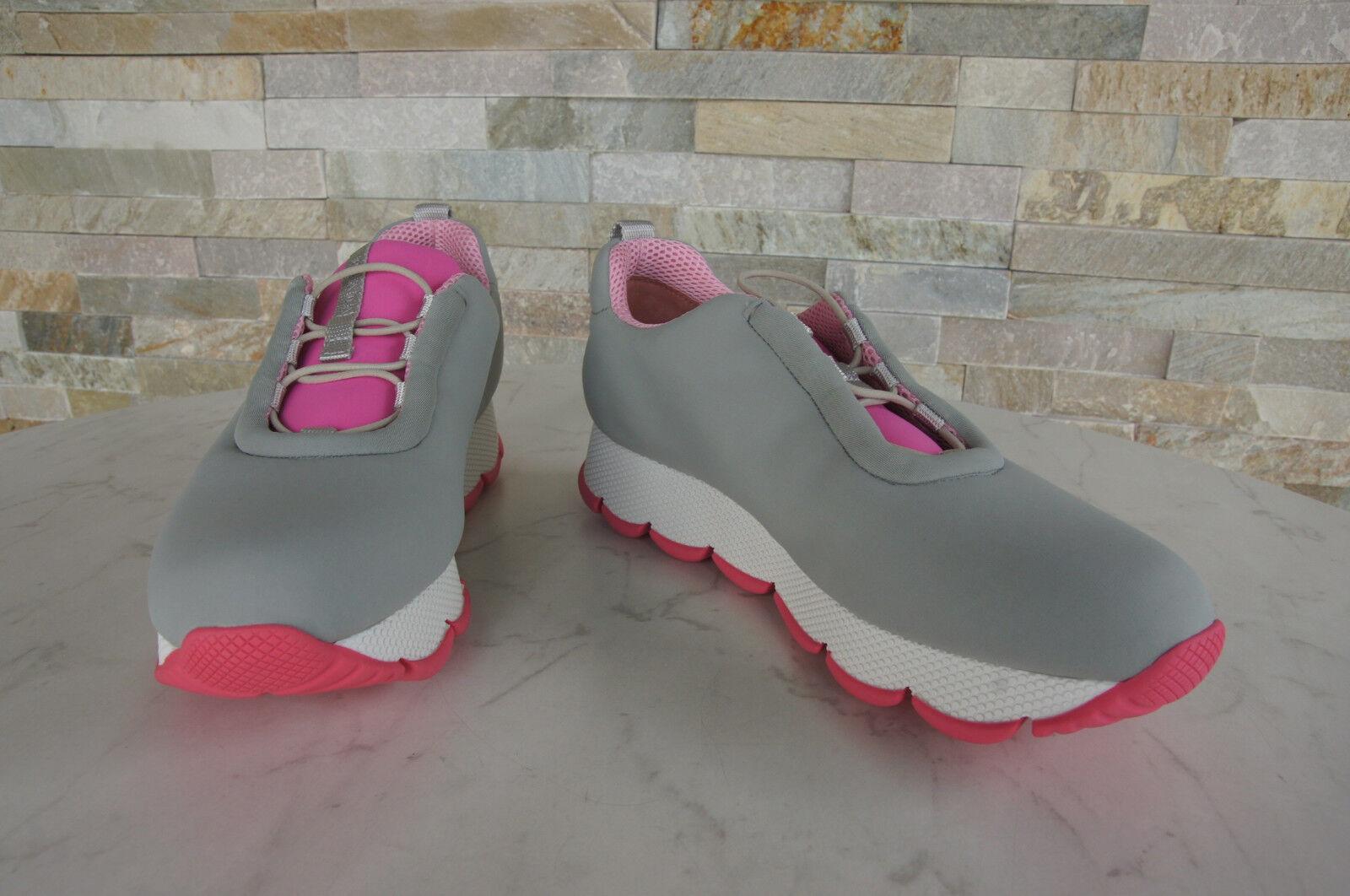Luxus Luxus Luxus PRADA Gr 39 Slipper Sneakers Neopren 3E6233 Schuhe schuhe NEU 8c49bc