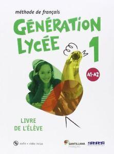 16-GENERATION-LYCEE-A1-A2-ELEVE-CD-DVD-ENV-O-URGENTE-ESPANA