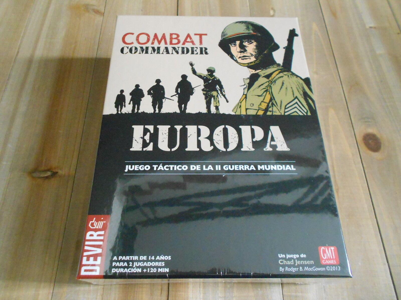 Jeu Warspel Tactique - Combat Commander Europe - Devir Gmt WWW II