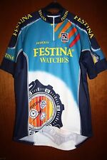 Maglia Radtrikot Shirt Maillot Ciclismo Team Festina Watches Giro Tour de France