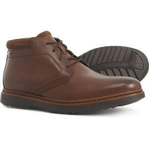 Patria para Propuesta alternativa  New Men's Clarks Un Geo Mid Gore-Tex Chukka Boots Leather 261367747090 |  eBay