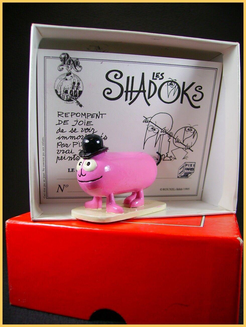 Pixi Shadok + Schachtel (Antik Spielzeug Anschluss)