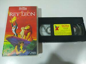 EL-REY-LEON-LOS-CLASICOS-DE-WALT-DISNEY-EDICION-ESPECIAL-VHS