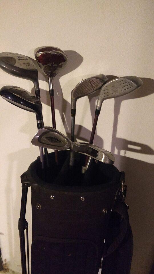 Andet golfsæt, stål, Blandet