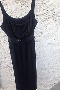 Esprit-Damen-Kleid-Cocktailkleid-kleines-Schwarzes-schwarz-Groesse-M-Collection