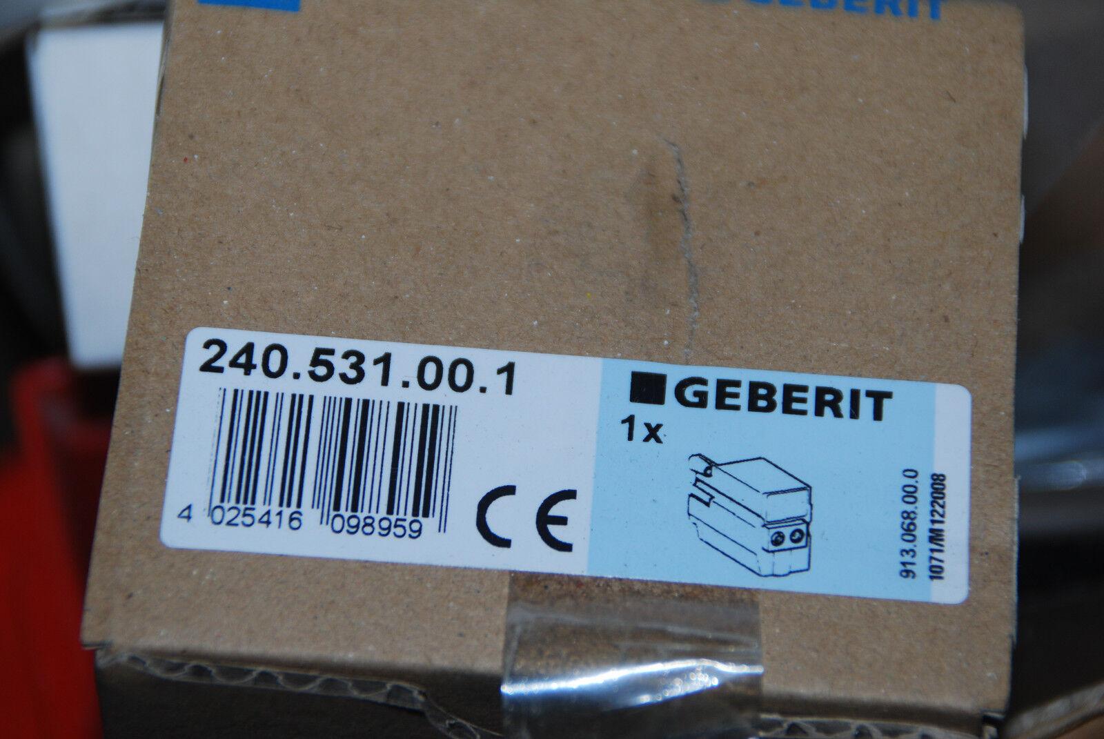 GEBERIT 240.531.00.1 240531001 IR-NETZTEIL ZU PUBLIC UR 230V 12V DC NEU
