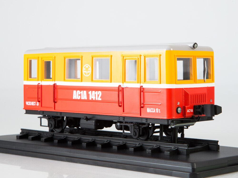 Railcar AS 1A SSM ModelPro 0074MP 1 43