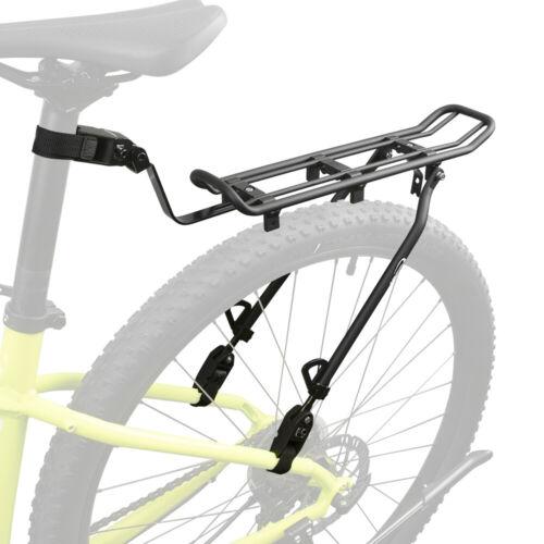 "Ibera Mountain Bike Rear Carrier Rack Road Bike Seat Post Clamp-On Fits 26/""-29/"""