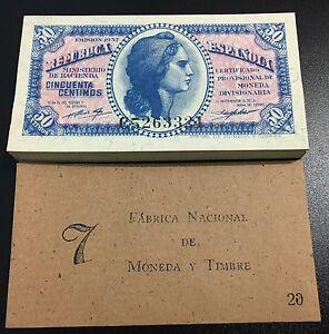 SERIE-C-PAREJA-CORRELATIVA-50-CENTIMOS-DE-1937-S-C-PLANCHA-LUJO-TACO-RARISIMA