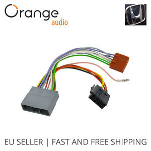 wiring harness adapter for honda civic 2006 iso stereo. Black Bedroom Furniture Sets. Home Design Ideas