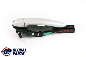 BMW 1 Series E87 Complete Rear Right O/S Grab Door Handle Titansilber Silver