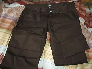 Pantalon-Mexx-marron-chocolat-T-40