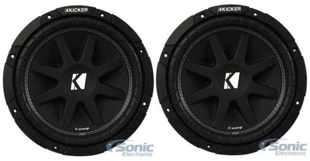 New (2) KICKER 43C104 Comp 10