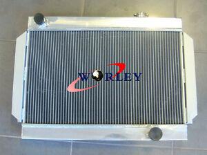 3-Core-56mm-for-Holden-V8-chevy-motor-universal-Aluminum-Alloy-Radiator-MT