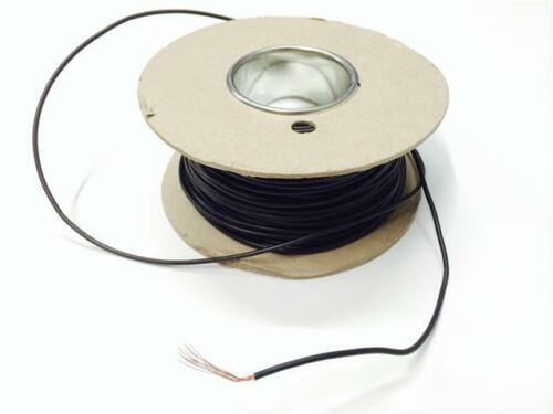 Negro 5m tableros de circuitos Roto cableado Telar arnés Arreglar Reparar Cable - 17,5 Amp