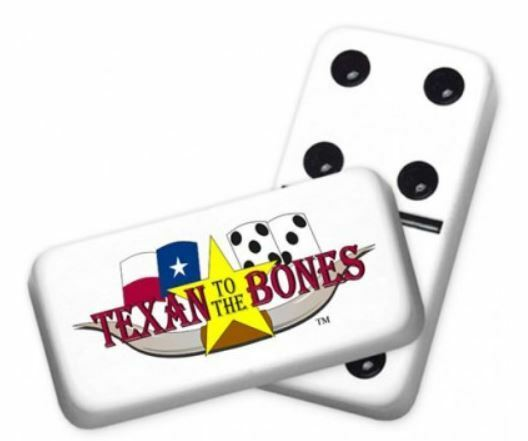Professional Dimensione Double 6 Texan to the Bones Dominoes