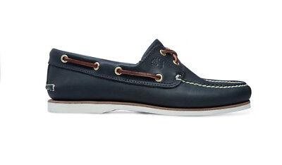 Timberland Traditionnel Classique Chaussures Bateau en Bleu Marine 74036 Solde | eBay