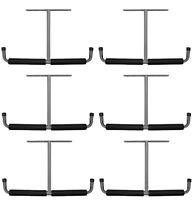 6 Ea Crawford 13010 Deluxe Overhead Garage Lumber Storage Hooks / Brackets