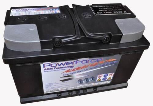 batteria agm hpe60-12mp powerforce  67Ah 1176A di spunto