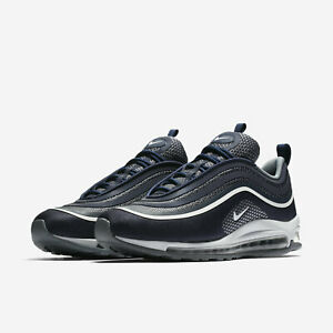 Details about Nike Air Max 97 Ultra '17 GS 917999 003 Blue Men's Shoes Sneaker New Gr.37, 5