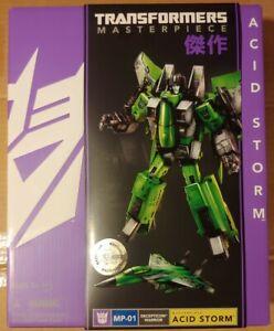 Transformers MP-01 ACID STORM Toys R Us TRU sealed MISB NEW Hasbro Masterpiece
