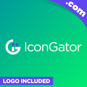 IconGator-com-is-a-cool-brandable-domain-for-sale-Godaddy-ICONS-Premium